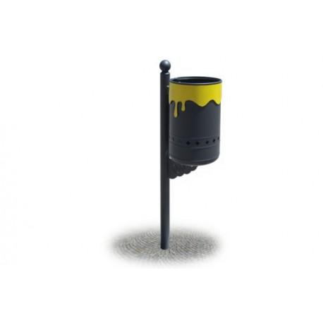 36EC101-COLOR Cestino raccolta rifiuti