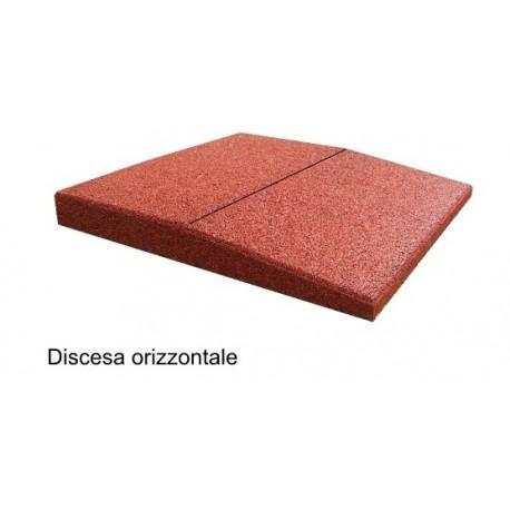 4170061030O BORDO INCLINATO ORIZZONTALE PER RACCORDO PAVIMENTAZIONE SP.3 CM