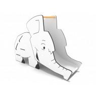 29VP0821 Gioco per parchi scivolo per bambini Elefante